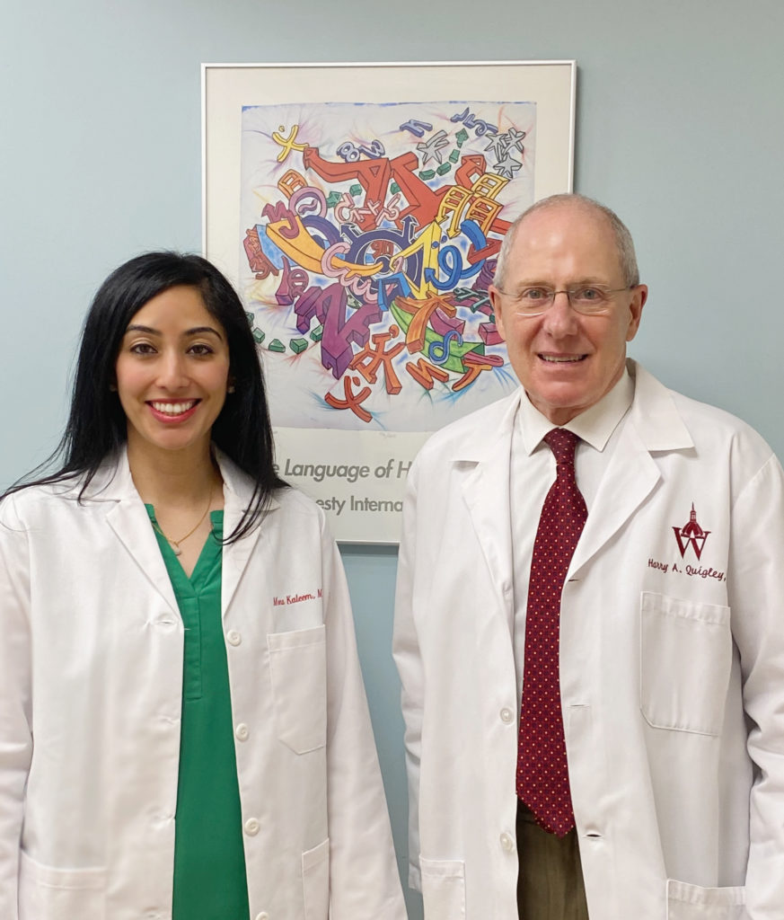Dr. Kaleem, Dr. Quigley